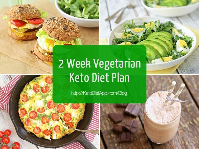 |2 Week Vegetarian Keto Diet Plan