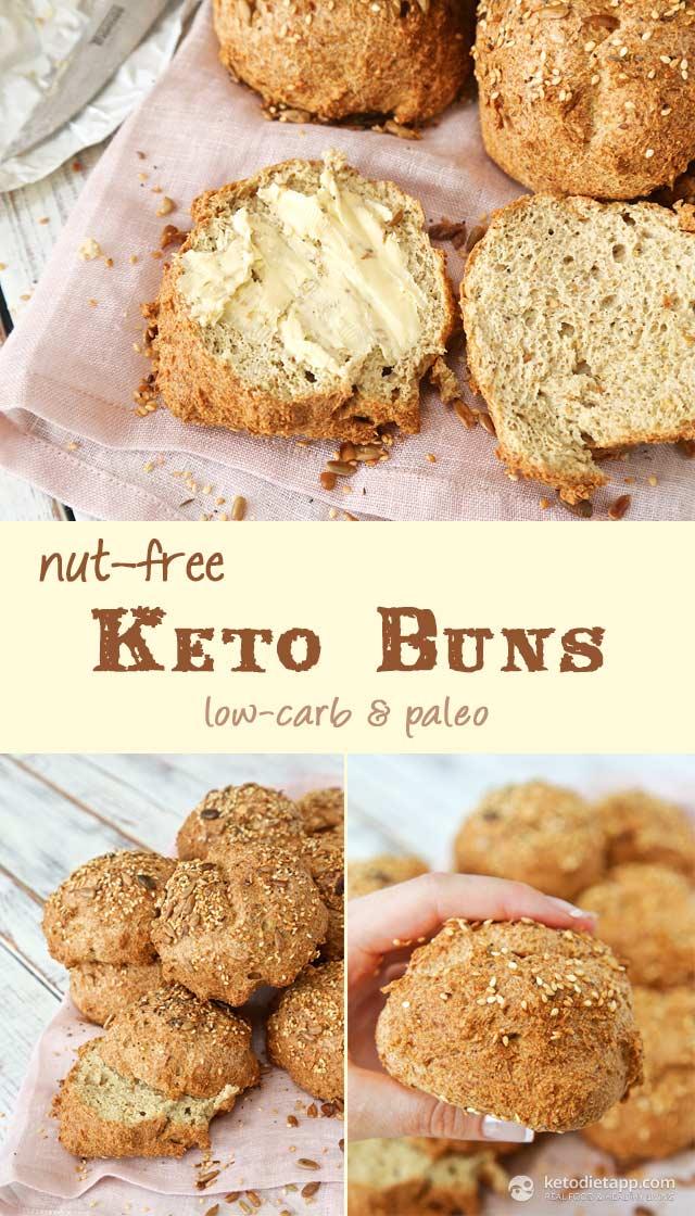 Nut-Free Keto Buns