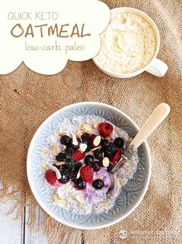 Quick Keto Oatmeal