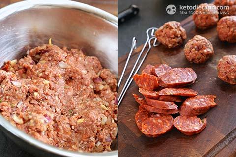 BBQ Meatball Skewers