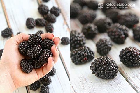 Keto Blackberry Cheesecake Smoothie