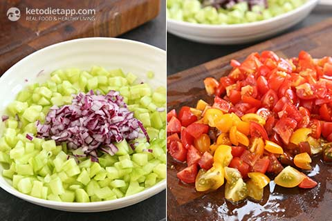 Easy Summer Vegetable Salsa