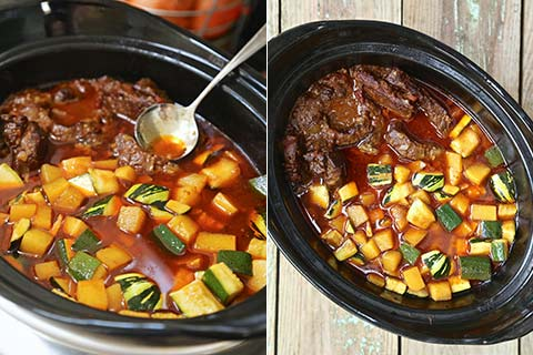 Autumn Beef & Vegetable Stew