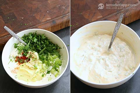 Easy Keto Ranch Dressing