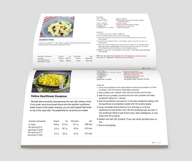 Book Review: Low-Carb, So Simple (Yellow Cauliflower Couscous)