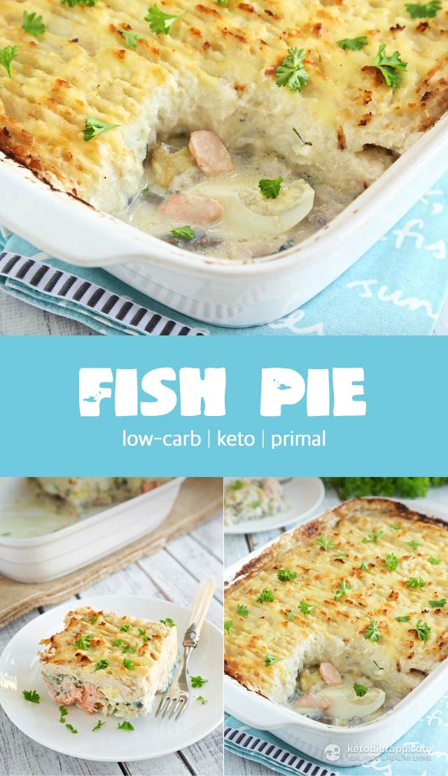 Keto Fish Pie