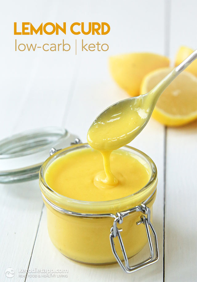 How to Use Leftover Egg Yolks: Make Low-Carb Lemon Curd