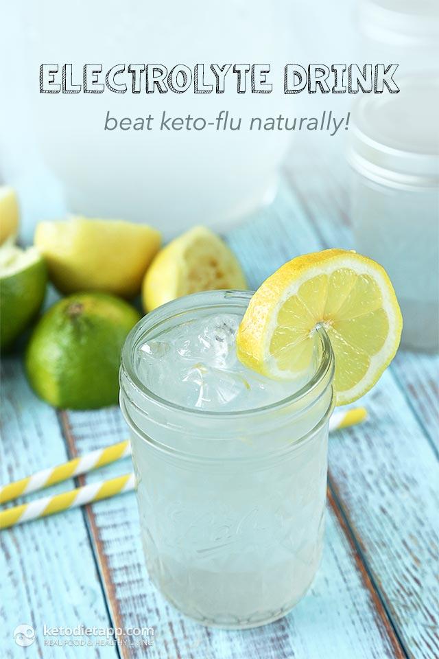 Beat Keto-Flu with Homemade Electrolyte