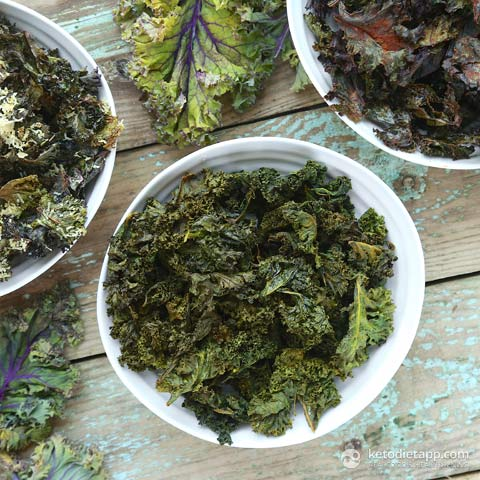Foolproof Kale Chips Three Ways