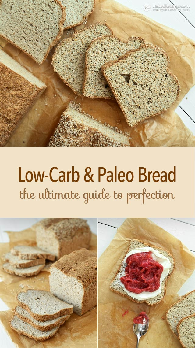 Low carb paleo bread the ultimate guide the ketodiet blog for Low carb fish breading