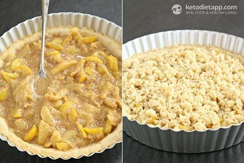 Low-Carb Zucchini Apple Pie