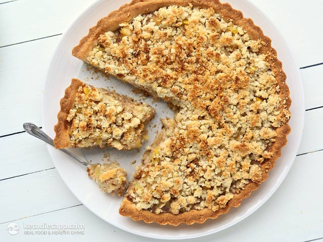 Low Carb Zucchini Apple Pie The Ketodiet Blog