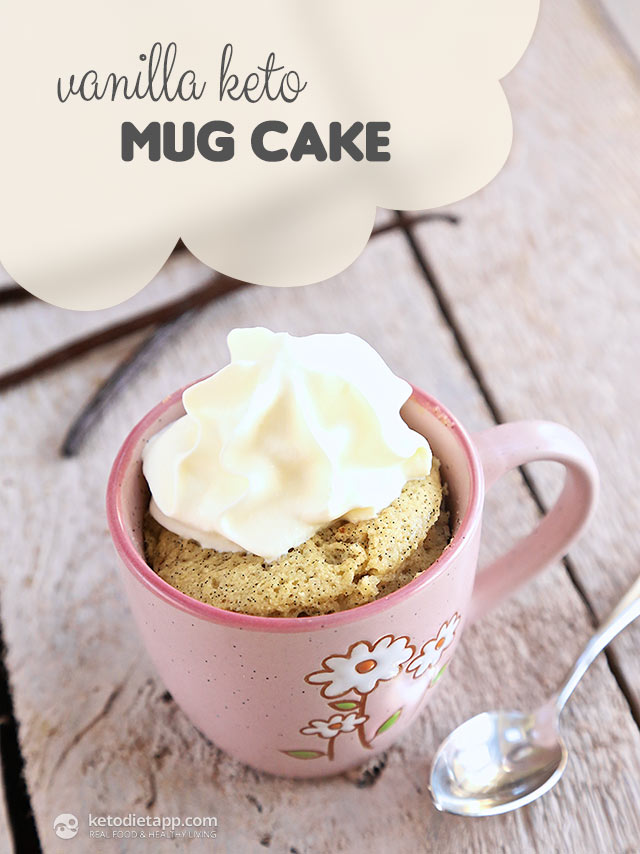 Coconut Vanilla Mug Cake