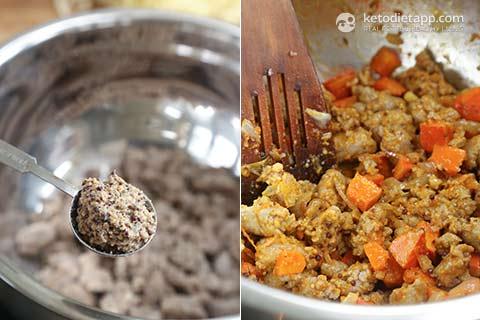 Sausage & Pumpkin Breakfast Casserole