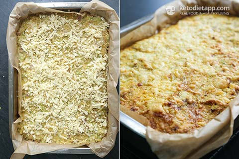 |Cheesy Chicken Keto Casserole