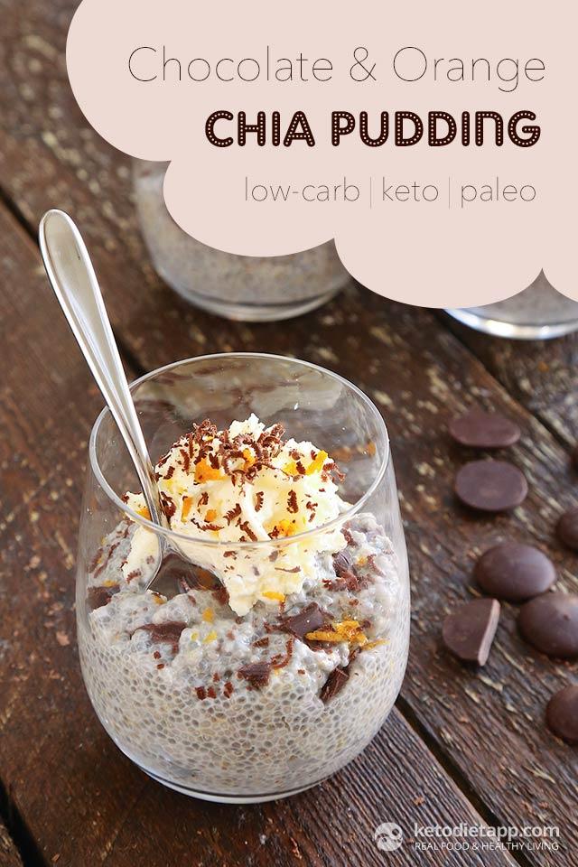 Chocolate Amp Orange Keto Chia Pudding The Ketodiet Blog