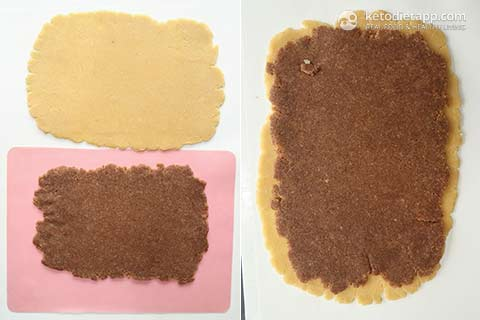 Keto Cinnamon Swirl Cookies