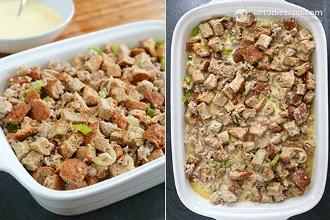 Healthy Low-Carb Holiday Stuffing