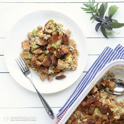 Keto Holiday Stuffing