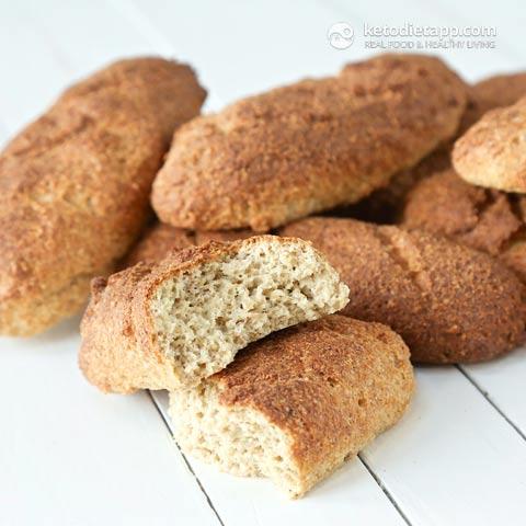 Sourdough Keto Baguettes