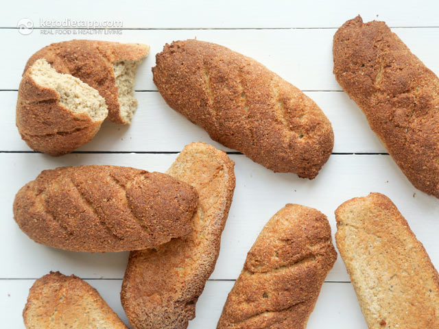 Sourdough Keto Baguettes