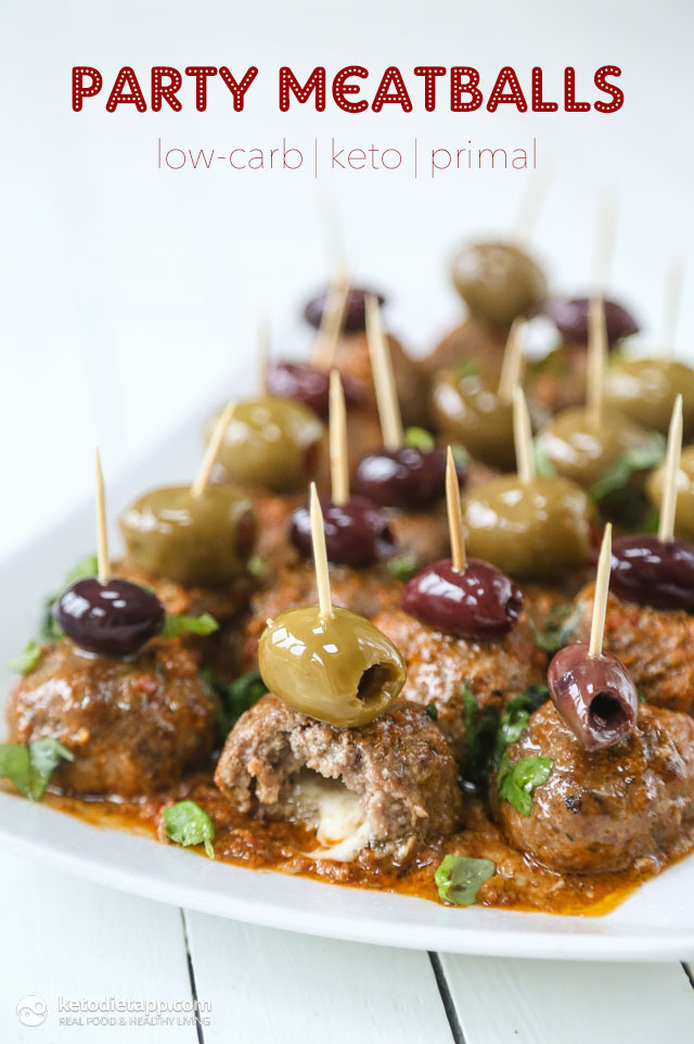 Low-Carb Party Meatballs