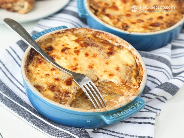 "Low-Carb ""Potato"" Gratin"