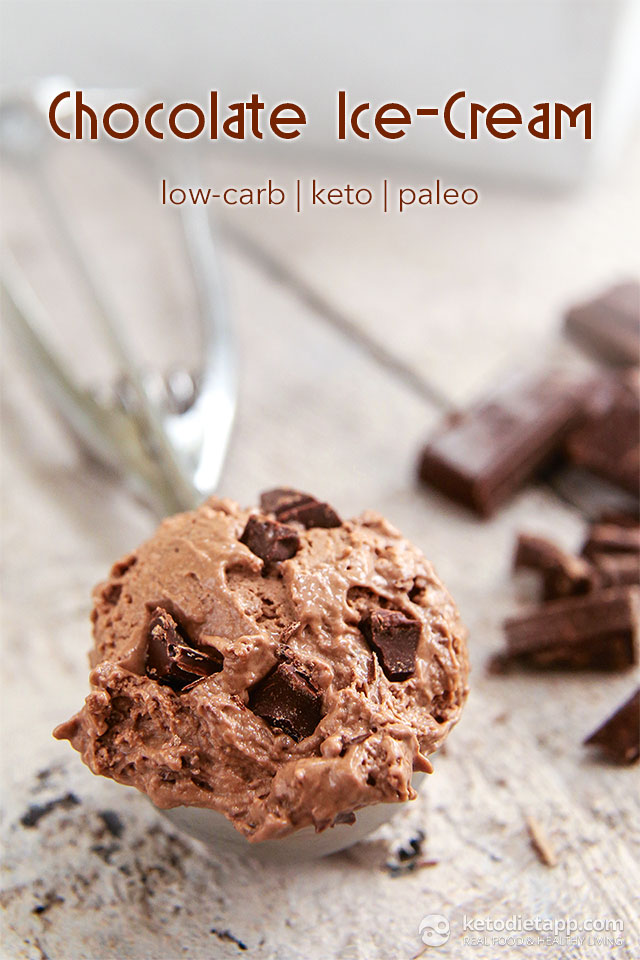 Super Creamy Keto Chocolate Ice-Cream