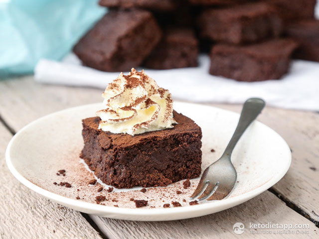 Ultimate Keto Chocolate Brownies