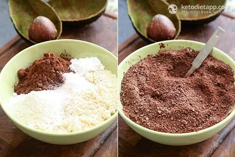 coconut oil keto brownies