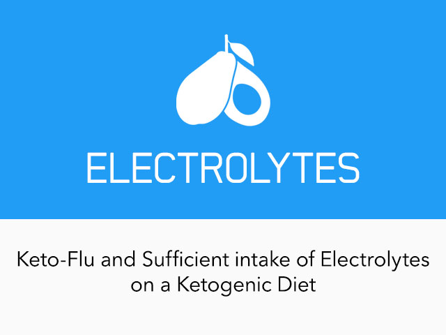 "|""Keto-flu"" and Sufficient Intake of Electrolytes"