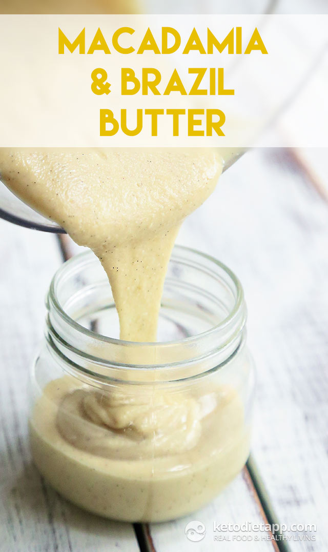 Macadamia & Brazil Nut Butter