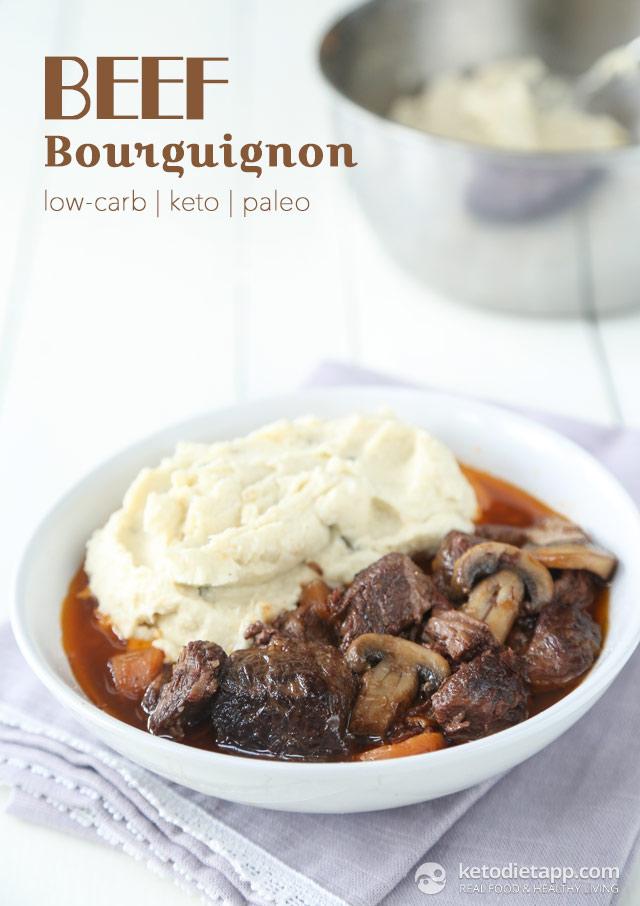 Paleo Beef Bourguignon