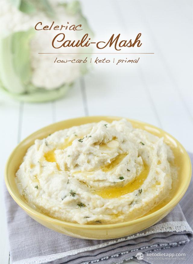 Keto Celeriac Cauli-Mash