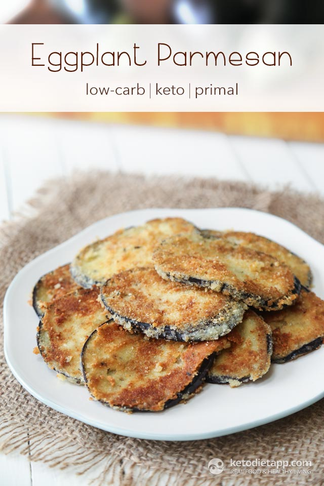 Keto Eggplant Parmesan | The KetoDiet Blog