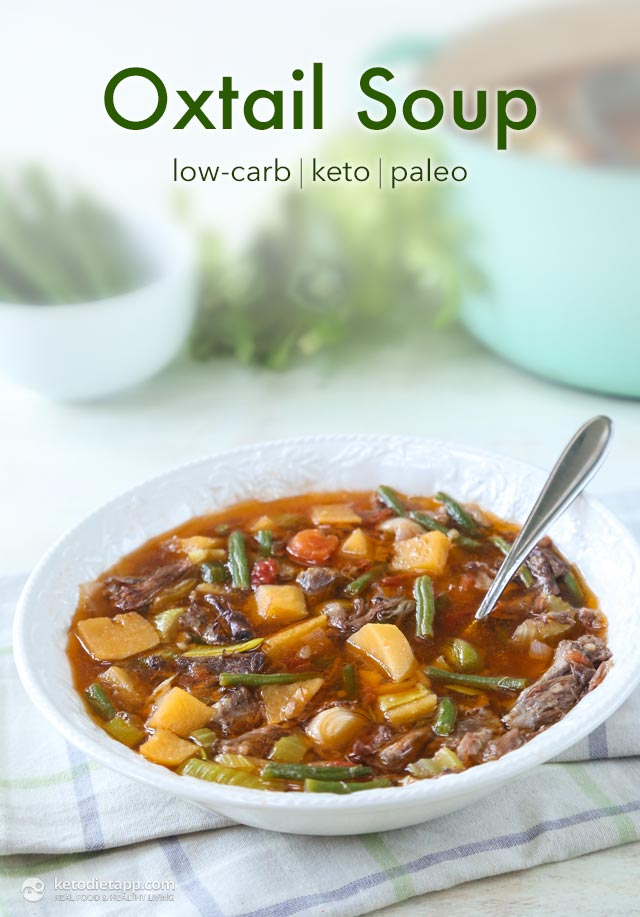 Low-Carb Oxtail Soup