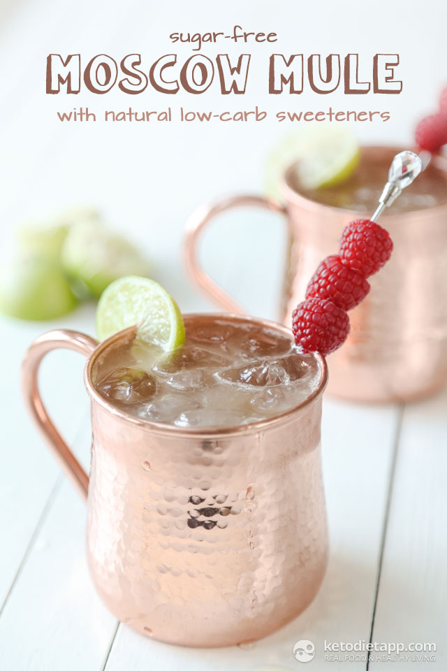 Sugar-Free Moscow Mule Cocktail