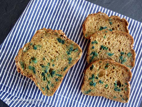 Fluffy Grain-Free Sunflower Bread
