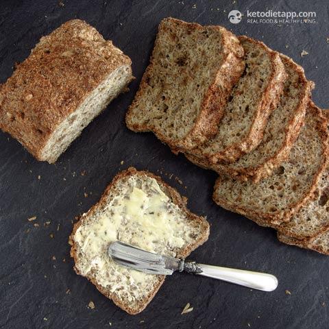 Fluffy Nut-Free Keto Sunflower Bread