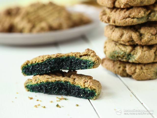 5 Ingredient Keto Green Cookies The Ketodiet Blog