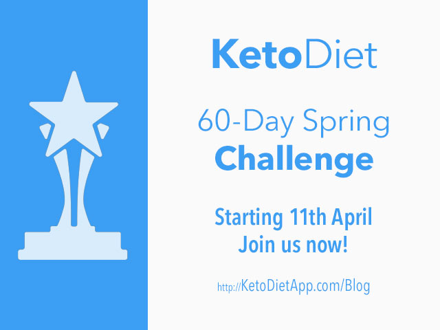 60-Day KetoDiet Spring Challenge
