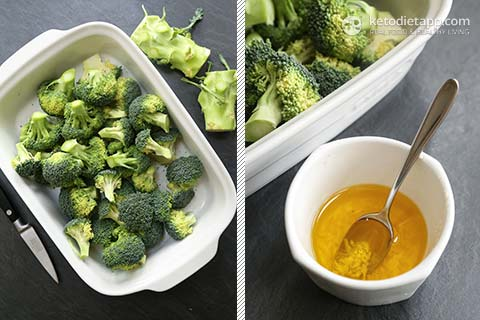 Low-Carb Garlic & Lemon Roasted Broccoli