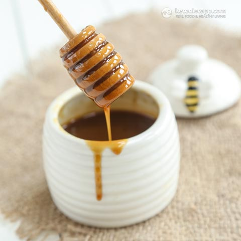 Homemade Sugar-Free Honey Syrup