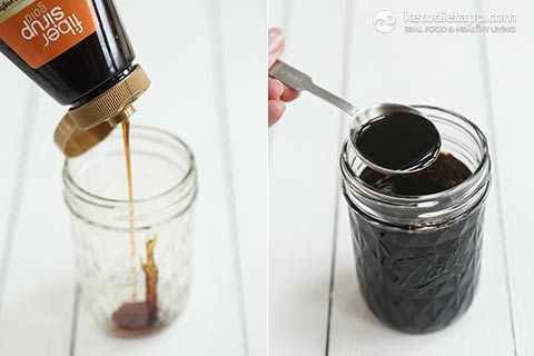 Homemade Sugar-Free Maple Syrup