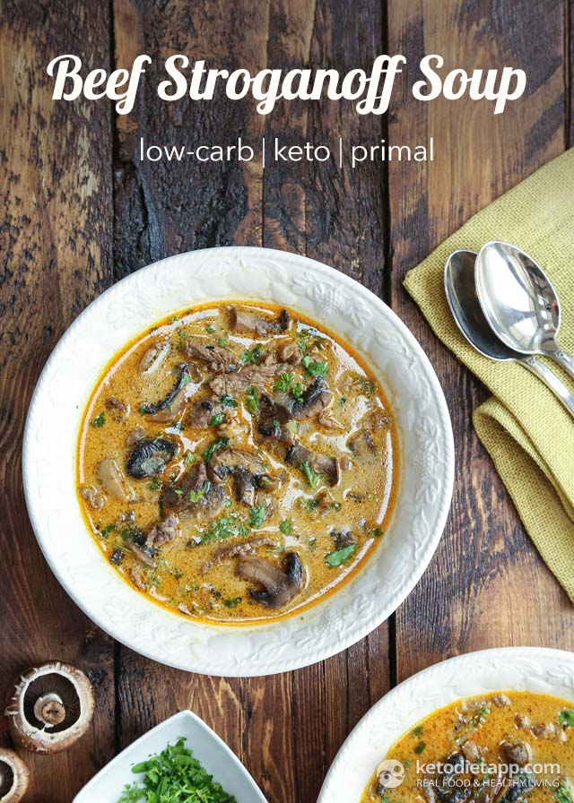 Keto Beef Stroganoff Soup The Ketodiet Blog