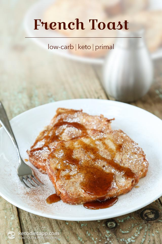 Healthy Keto French Toast