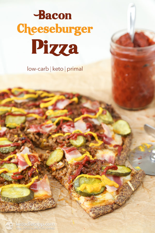 Keto Bacon Cheeseburger Pizza The Ketodiet Blog