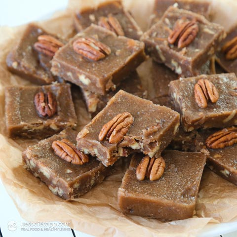 Maple & Pecan Fudge Fat Bombs