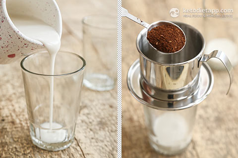 |Keto Vietnamese Iced Coffee