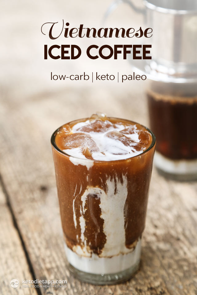 ... Vietnamese iced coffee! It's easy to make but requires a special